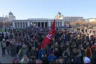 Proteste și marșuri în singura țară europeană care are la guvernare un partid extremist