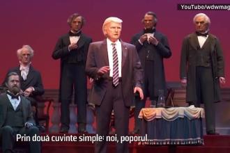 Donald Trump are o sosie robot, care a fost expusă la Galeria președinților americani