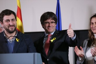 Separatiştii îşi păstrează majoritatea în Catalonia. Reacția lui Carles Puigdemont