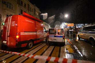 Explozie într-un supermarket din Sankt Petersburg, provocată de o bombă improvizată. Mai multi răniți