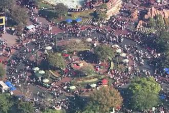 Parcul de distracții Disneyland a fost afectat, miercuri, de o pană de curent