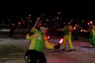 S-a dat startul la distracție pe pârtia Clăbucet. Sezonul de schi, deschis oficial