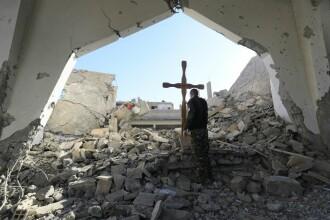 Descoperire sinistră lângă fosta capitală a Statului Islamic.
