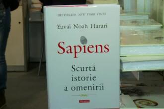 Cea mai vândută carte în 2017 în România: Sapiens, scurtă istorie a omenirii
