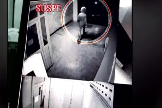 Criminal căutat în București, după ce a ucis un bărbat în propria locuință. Imaginile suprinse de camere