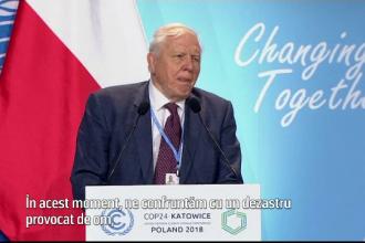 """Avertismentul lui Sir David Attenborough: """"Prăbușirea civilizației e la orizont"""""""