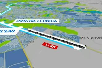 Prima stație de metrou supraterană din București. Ar trebui să fie gata în 2021