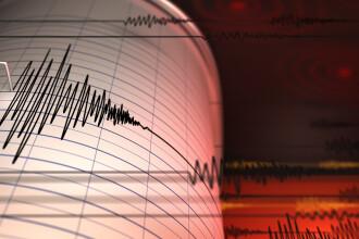 Cutremur în România, sâmbătă dimineață. S-a produs la o adâncime de 129 kilometri