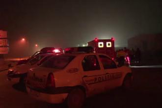 Incendiu la o pensiune de lângă Oradea. 20 de persoane au fost evacuate