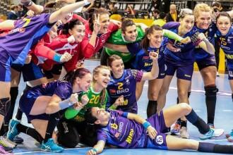Naționala de handbal a României a învins Norvegia cu 31-23, la EURO 2018