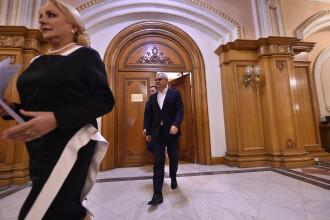 Viorica Dăncilă şi Liviu Dragnea, întâlnire în biroul liderului PSD