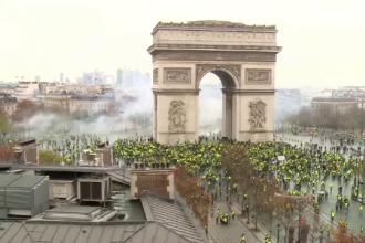 Noi proteste anunțate la Paris.
