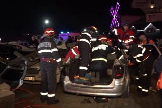 Șase persoane au fost lovite de o mașină în parcarea unui restaurant. Greșeala comisă de șofer
