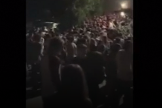 Momentul în care 6 oameni mor striviți, filmat cu telefonul. Cum s-a petrecut tragedia din Italia. VIDEO