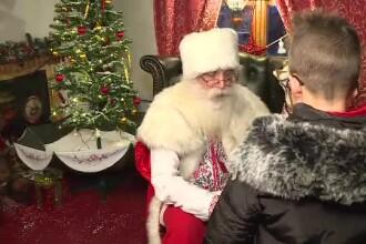 Moș Crăciun îi așteaptă pe cei mici la Ambasada dechisă la Mogoșoaia. Dorințele copiilor