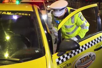 Ce au găsit polițiștii în mașina unui taximetrist care își aștepta clientul în fața unui club