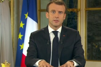 Mesaj în limba română al lui Emmanuel Macron. Ce cere președintele francez