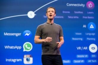 """""""Ne pare rău"""". O nouă eroare a Facebook, care afectează milioane de utilizatori"""