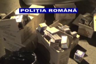 Maşină plină cu petarde şi artificii, găsită de poliția din Galați. Ce riscă proprietarii