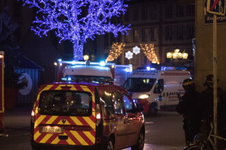 Atentat la Strasbourg, la târgul de Crăciun. Atacatorul nu a fost prins