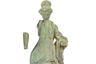 Statuie romană din secolul I, descoperită într-o cutie de margarină
