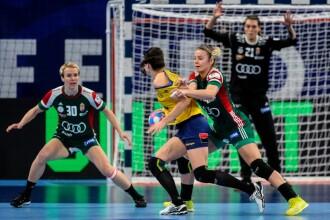 Handbal România - Ungaria, 29-31. Fetele s-au calificat în semifinale