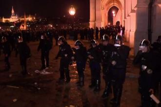 Proteste violente în Budapesta, după o lege controversată. Reacția lui Viktor Orban