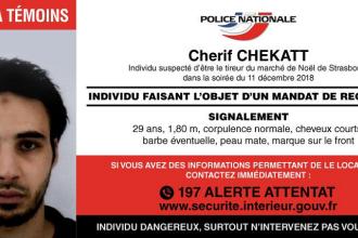 Autorul atentatului de la Strasbourg încă nu a fost prins. Descoperirea anchetatorilor