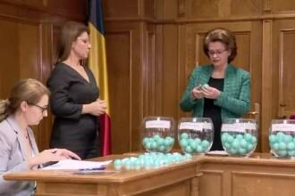 Judecătorii, traşi la sorţi cu bile aduse din Germania. De ce nu avem bile în ţară