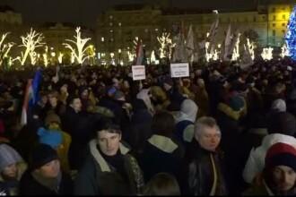 """Pregătiri pentru o demonstrație de amploare în Ungaria, dupa adoptarea """"Legii Sclaviei"""""""