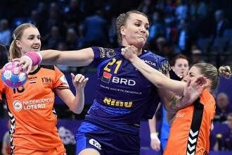 Crina Pintea, aleasă cel mai bun pivot de la Campionatul European de Handbal