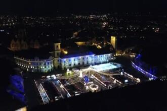 Târgul de Crăciun din Sibiu, pe model bavarez, atrage turiști din Canada, SUA sau Japonia