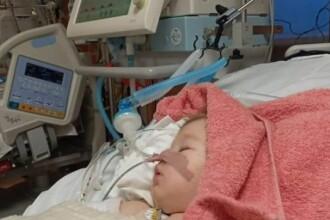 """Fetița jandarmeriței ucise pe """"trecere"""" are nevoie urgentă de ajutor pentru tratament"""
