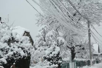 Vremea se menține rece, cu minime de -14 grade. Prognoza pentru următoarele 2 săptămâni