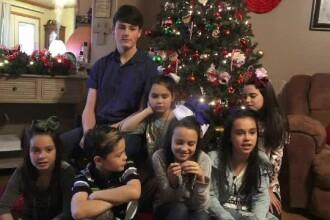 Soarta a 7 copii, crescuţi de părinţi drogaţi