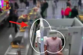 A furat 8000 de € în 10 secunde pe aeroport. Momentul a fost filmat. VIDEO
