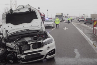 Un șofer a provocat un grav accident pentru că nu a acordat prioritate