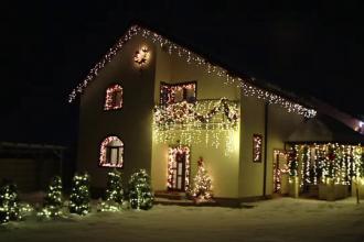 Suma cheltuită de o româncă pentru a-și decora casa de Crăciun