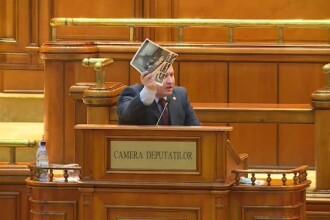 """Scandal în timpul moțiunii de cenzură: """"Vedeți poza asta? Știți că sunt crime în România?"""""""