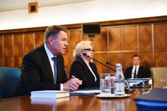 Întâlnire la Palatul Cotroceni între Viorica Dăncilă și Klaus Iohannis