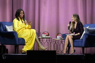 Reacția americanilor la cizmele aurii, de 4000 de dolari, purtate de Michelle Obama
