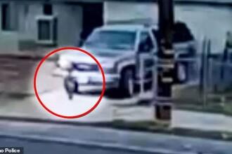 Imaginile sunt şocante. Un bărbat a trecut cu maşina peste nepoţica de 2 ani şi a fugit