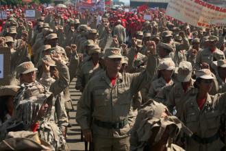 Soldaţii venezueleni