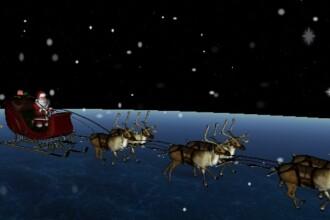 Moș Crăciun și-a început călătoria în jurul lumii. Unde poate fi urmărit traseul său