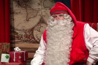 Mesajul transmis de Moș Crăciun locuitorilor planetei, înainte de a-și începe călătoria