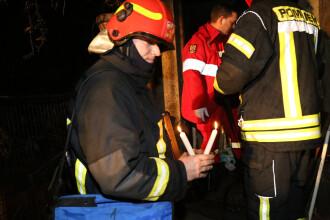 O bătrână şi o copilă au murit într-un incendiu în Capitală, în noaptea de Crăciun