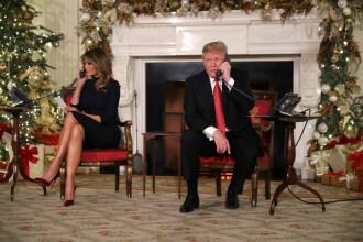 Trump i-a sugerat la telefon unui copil că Moş Crăciun nu există.
