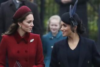 Cum au apărut Kate şi Meghan la slujba de Crăciun. Cele două ar fi certate