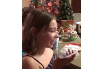 Ce i-a răspuns fetița de 7 ani lui Trump când i-a sugerat că Moș Crăciun nu există. VIDEO