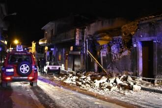 Cutremur de proporţii în sudul Italiei. Clădiri prăbuşite, cel puţin 10 răniţi